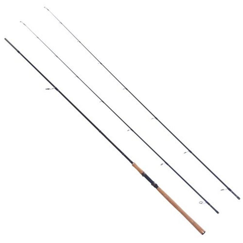 Спиннинг штекерный с двумя хлыстиками MIFINE GLORIOUS SPIN CARBON 2.4 м., C.W. 8-25 GR. / C.W. 15-40 арт:720-240