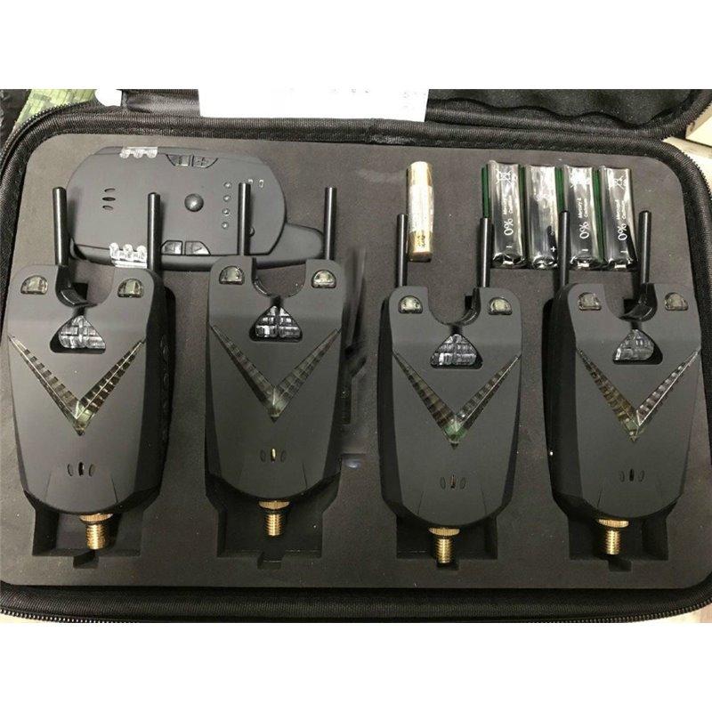 Электронные сигнализаторы поклевки 4+1 модель 'V-line 2'