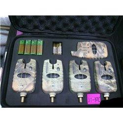 Набор электронных сигнализаторов KAIDE 4+1 в чехле JY37C