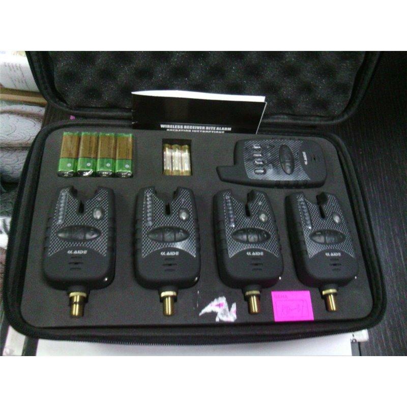 Набор электронных сигнализаторов KAIDE 4+1 в чехле KD37