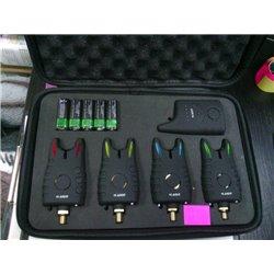 Набор электронных сигнализаторов KAIDE 4+1 в чехле KD57