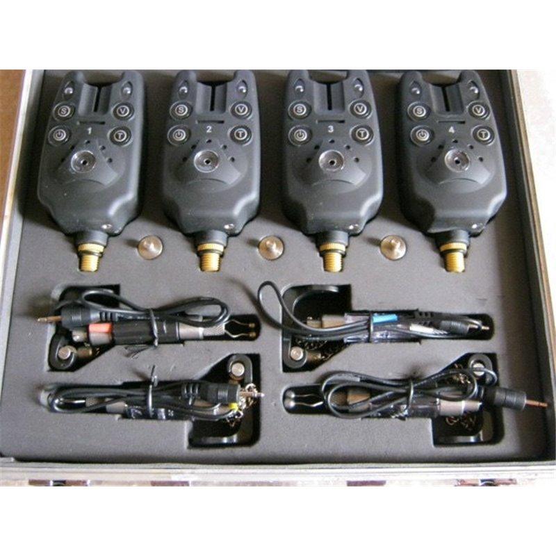 Наборы сигнализаторов с пейджером 4+1 + 4 свингера KD-19-SW