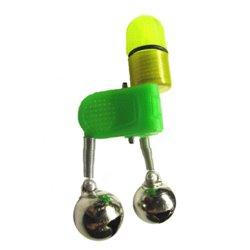 Бубенчик двойной на прищепке свето-звуковой KX-LB-01