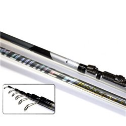 Удилище с кольцами MIFINE HUMMER BOLOGNESE MX X-Flex Carbon 4 м.,тест 5-25 гр.,арт: 1079-400