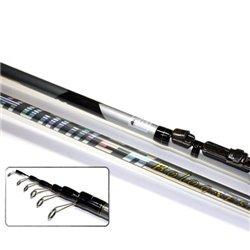 Удилище с кольцами MIFINE HUMMER BOLOGNESE MX X-Flex Carbon 5 м.,тест 5-25 гр.,арт: 1079-500