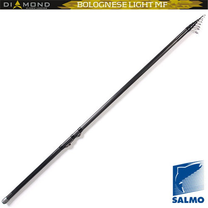 Удилище поплавочное с кольцами Salmo Diamond BOLOGNESE LIGHT MF 6 м., тест 3-15 гр