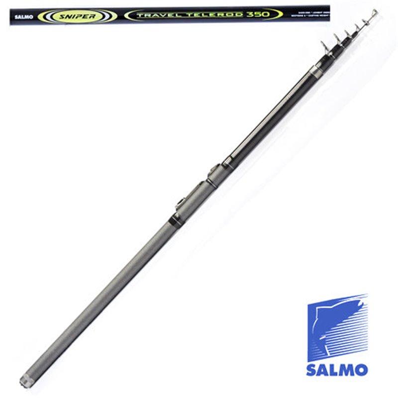 Удилище поплавочное с кольцами Salmo Sniper TRAVEL TELEROD 3.5 м., тест до 15 гр.