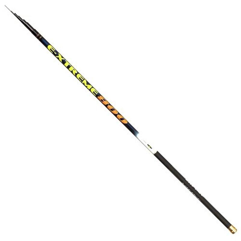 Удилище без колец MIFINE E-XTREME Pole 8.0м тест 8-14гр.,арт: G153-800