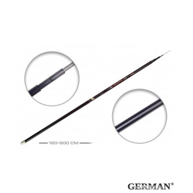 Удилище без колец German Pole 'Aligator' IM6 / 5 м