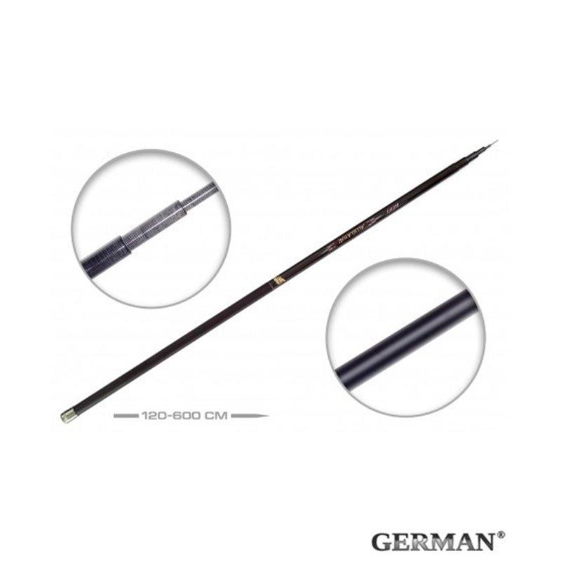 Удилище без колец German Pole 'Aligator' IM6 / 6 м