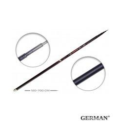 Удилище без колец German Pole 'Aligator' IM6 / 7 м