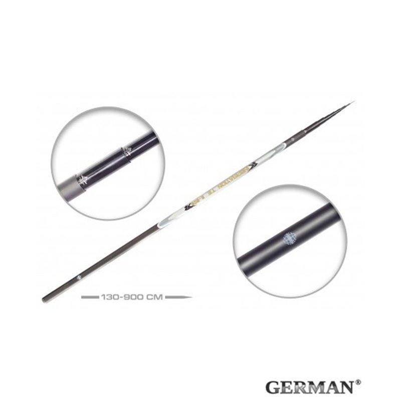 Удилище без колец German Pole 'Inspiration' IM8 / 9 м