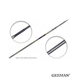Удилище без колец German Pole 'Mystery' IM8 / 6 м