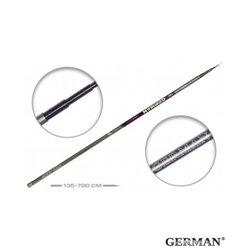 Удилище без колец German Pole 'Mystery' IM8 / 7 м