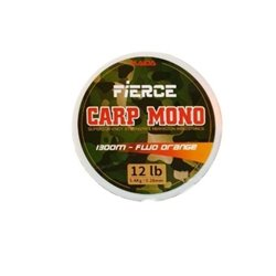 Леска Kaida Fierce Carp Mono 1300m Fluo Orange CMO-1300