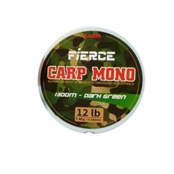 Леска Kaida Fierce Carp Mono 1300m Dark Green CMG-1300