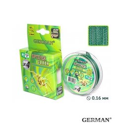 Плетенка GERMAN 'SPIDER GREEN' 100 м