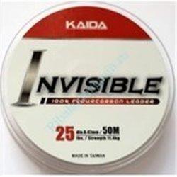 Леска Kaida Invisible Fluorocarbon 50м