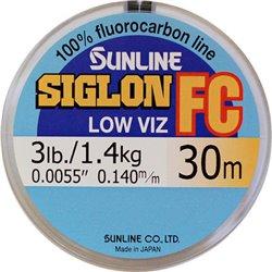 Леска флюорокарбоновая Sunline Siglon FC 30 м.