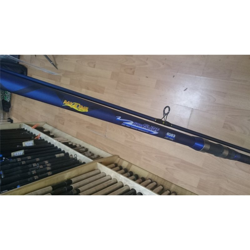 Удилище штекерное Mifine SURF 4,5 м., тест 100-200 гр