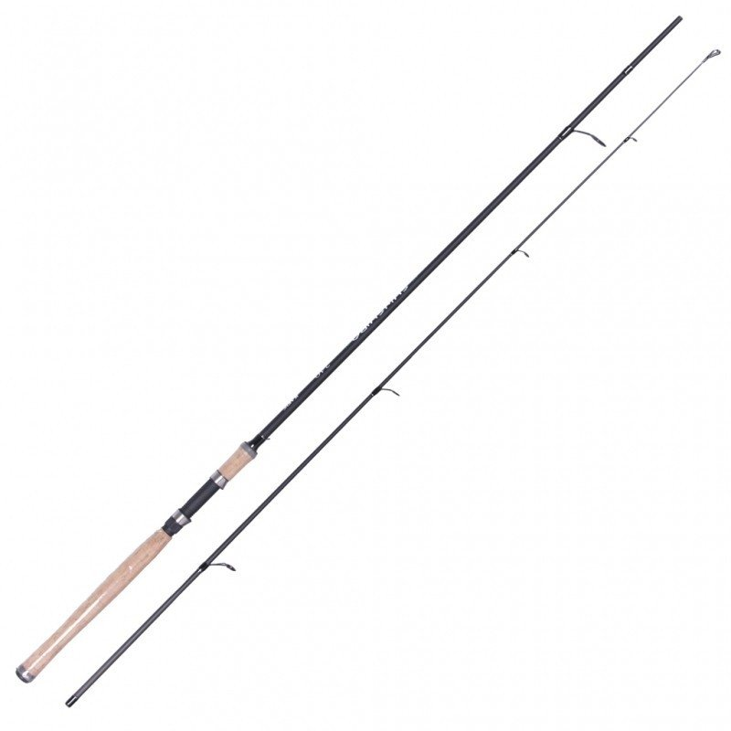 Спиннинг KAIDA штекерный, карбон M-7 SHINSHIRO 2.1 м., тест 5-20 гр., арт:812-520-210