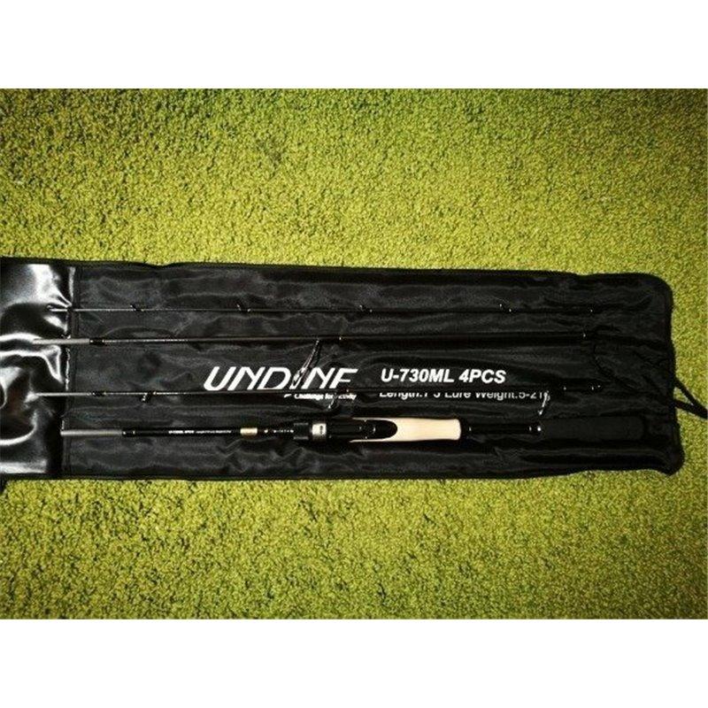 Спиннинг штекерный 4-х частный Kaida UNDINE 2.23 м., тест 5-21 гр., арт:502-220